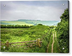 English Country Landscape 2 Acrylic Print by Wallaroo Images