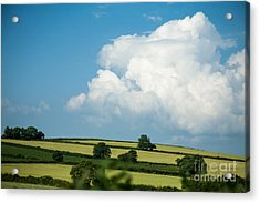 English Countryside In Summer Acrylic Print