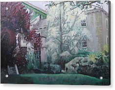English Estate Acrylic Print by Keith Bagg