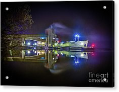 English River At Lafarge, Napanee Acrylic Print