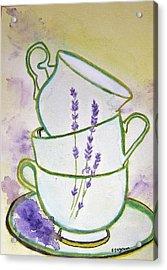 English Tea Acrylic Print