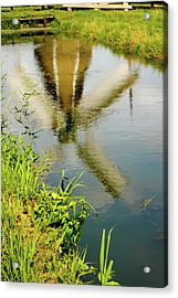 Acrylic Print featuring the photograph Enkhuizen Windmill by KG Thienemann