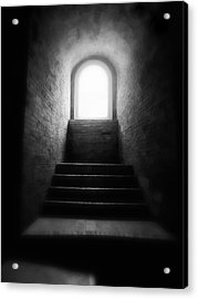 Enlighted Acrylic Print by Artecco Fine Art Photography