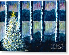 Enlightened Forest  Acrylic Print