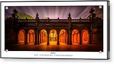 Enlightenment Poster Print Acrylic Print by Az Jackson