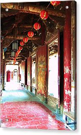 Acrylic Print featuring the photograph Enlightenment by HweeYen Ong