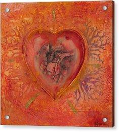Enshrine - Outward Heart Acrylic Print