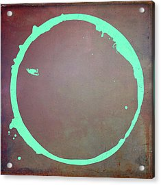 Acrylic Print featuring the digital art Enso 2017-6 by Julie Niemela