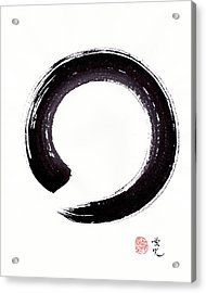 Enso - Embracing Imperfection Acrylic Print