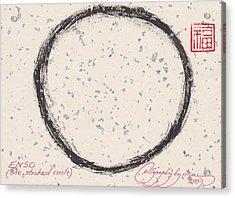Enso Circle Acrylic Print