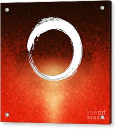 Enso Acrylic Print by Stefano Senise
