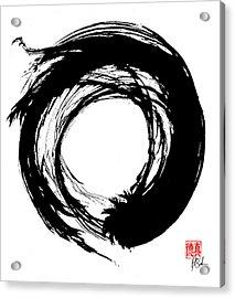 Enso / Zen Circle 15 Acrylic Print