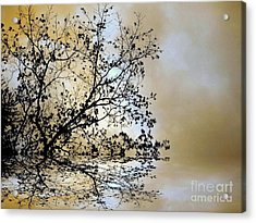 Acrylic Print featuring the photograph Entangled by Elfriede Fulda