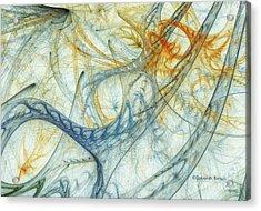 Entanglement Acrylic Print by Deborah Benoit