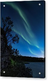 Enter Night Acrylic Print by Tor-Ivar Naess