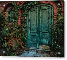 Enter October Acrylic Print by Robin-Lee Vieira