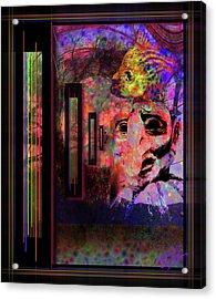 Enter Sandman Acrylic Print by Mimulux patricia no No
