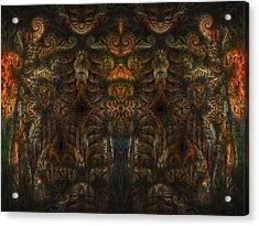 Enter Acrylic Print by Talasan Nicholson