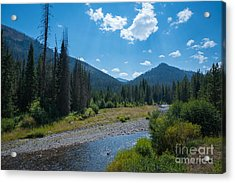 Entering Yellowstone National Park Acrylic Print