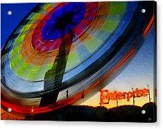Enterprise Acrylic Print by David Lee Thompson