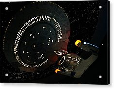 Enterprise Acrylic Print by Kristin Elmquist