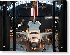 Enterprise Space Shuttle Acrylic Print by Renee Holder
