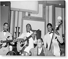 Entertainers At Negro Tavern. Chicago Acrylic Print