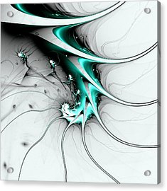 Acrylic Print featuring the digital art Entity by Anastasiya Malakhova