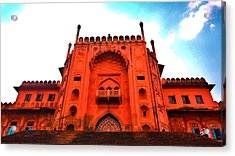#entrance Gate Acrylic Print