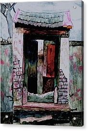 Entrance Gate Acrylic Print by Merton Allen