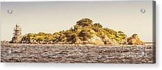 Entrance Island Lighthouse, Hells Gates Acrylic Print