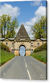 Entrance To Burghley House Acrylic Print