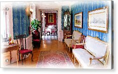 Entrance To Dining Room. Acrylic Print by Ralph Liebstein