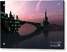 Entrancement Acrylic Print by Corey Ford