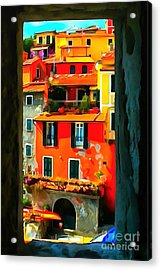 Entry Way Painting Acrylic Print