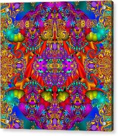 Acrylic Print featuring the digital art Environmental Protection-  by Robert Orinski