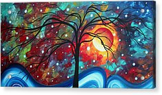 Envision The Beauty By Madart Acrylic Print by Megan Duncanson