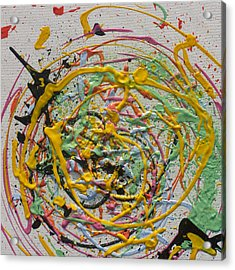 Envy Acrylic Print by Michael Palmer