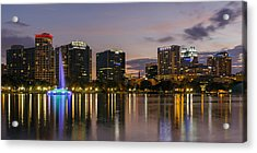 Eola Evening Acrylic Print