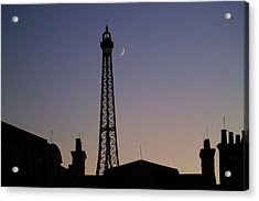 Epcot France Night Acrylic Print