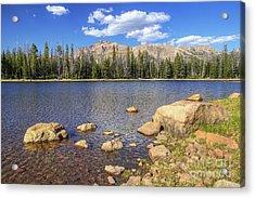 Ephemeral Lake Acrylic Print
