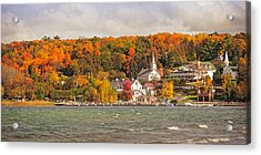 Acrylic Print featuring the photograph Ephraim Wisconsin In Door County by Heidi Hermes
