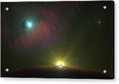 Epic Journey Acrylic Print by Ricky Haug