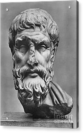 Epicurus (342?-270 B.c.) Acrylic Print