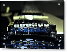 Epiphone Les Paul Guitar Acrylic Print by Martin Newman