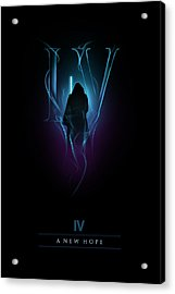 Episode Iv Acrylic Print by Alyn Spiller