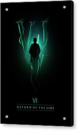 Episode Vi Acrylic Print by Alyn Spiller