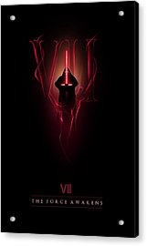 Episode Vii Acrylic Print by Alyn Spiller