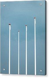 Equalizer Acrylic Print by Wim Lanclus