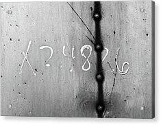 Equation Acrylic Print